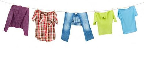 Hautreizung durch Kleidung